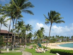 Sheraton Beach Hawaii