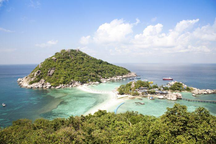 Koh Nang Yuan close to Koh Tao Thailand