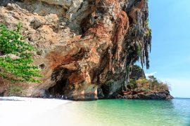 Pranang Cave Beach in Krabi, Thailand