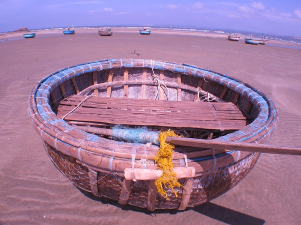 Boat on the Beach Mui Ne