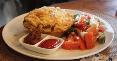 Biku Restaurant Bali meat pie