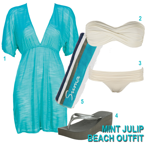 Mint Julip Beach Outfit