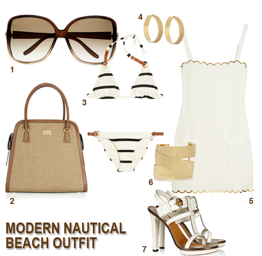 Modern Nautical beach outfit