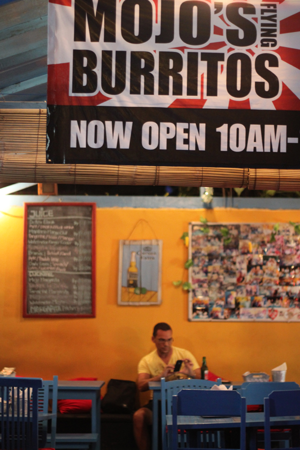 Mojo's burritos Bali