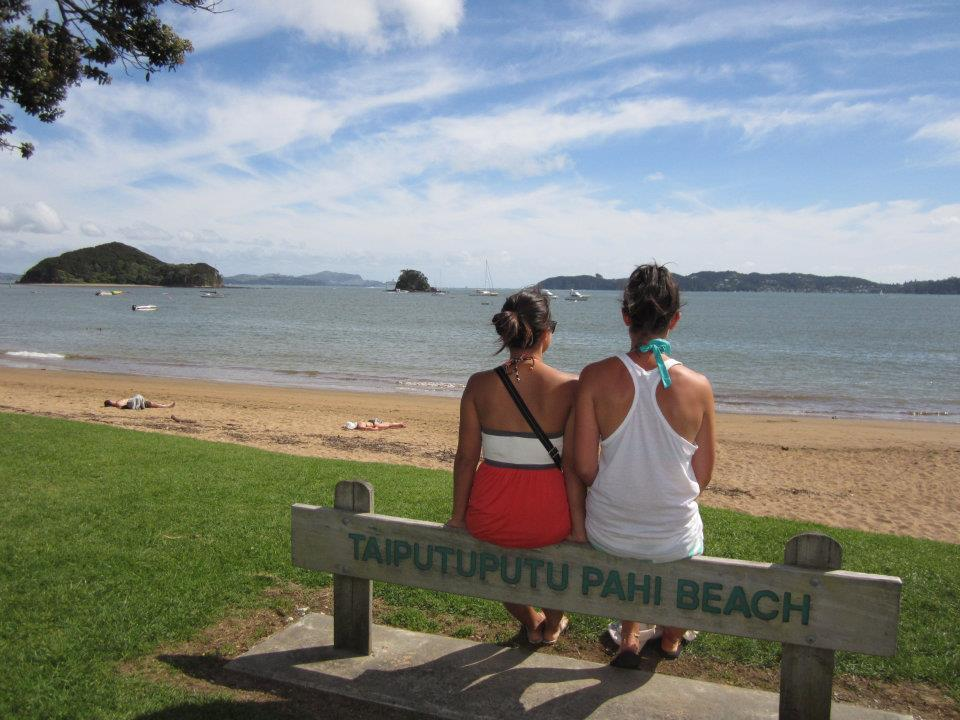 Taiputuputu Pahi Beach, Bay of  Islands New Zealand beach