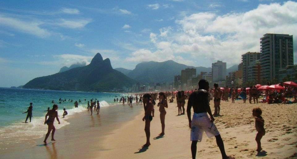 Rio carnival 2012 beach
