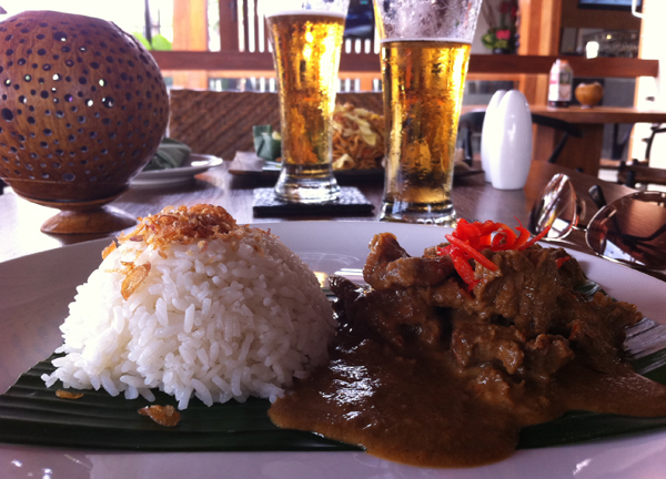 The Deck Beef Rendang