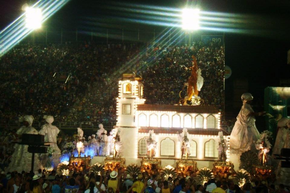Rio carnival 2012 parade