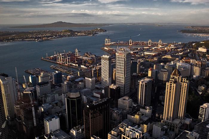 Auckland New Zealand CBD