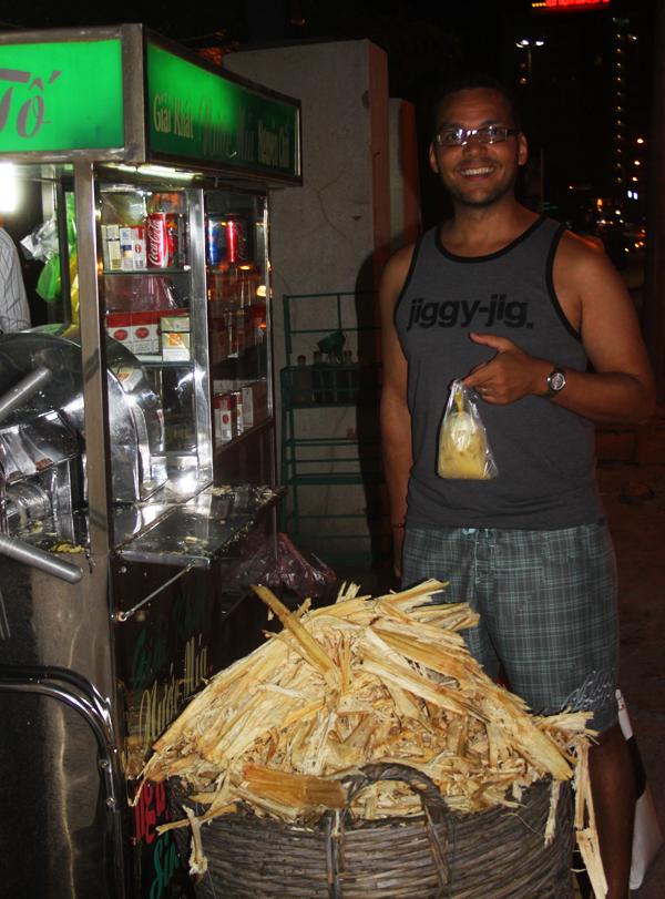 Fresh Sugar Cane Juice Nha Trang