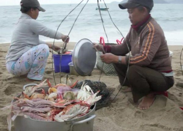 Seafood on Beach Nha Trang