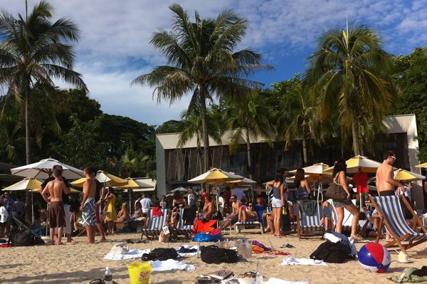 tanjong beach club Sentosa Singapore