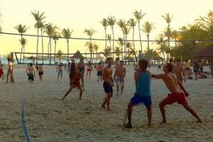 volleyball tanjong beach club Sentosa Singapore
