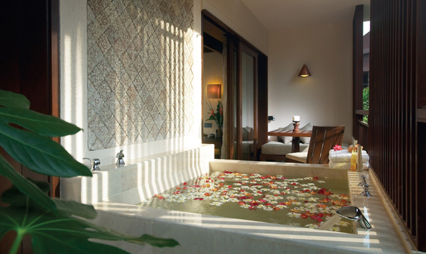 Southeast Asia most romantic resorts Rasa Premier Room Balcony - Rasa Sayang Resort and Spa Penang