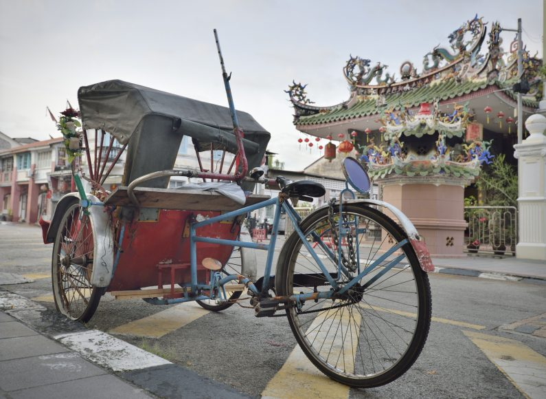 Trishaw tour of Georgetown Penang