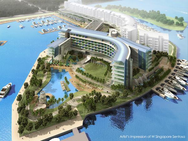 W Singapore Sentosa Cove Opening Specials