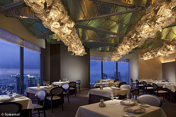 JAAN restaurant Swissotel The Stamford