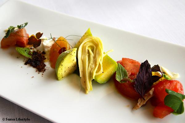 Jaan Restaurant Artisanal Cuisine Sicilian Trubetta Zucchini