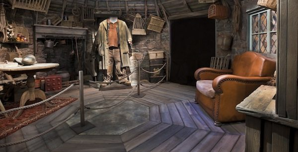 Harry Potter: The Exhibition Hagrids hut