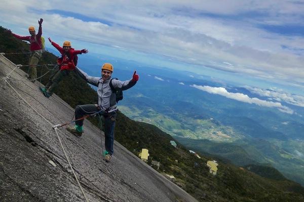 The Mount Kinabalu Via Ferrata
