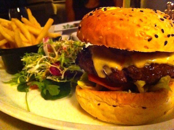 Clifford at Fullerton Bay Burger