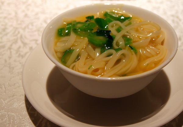 Hai Tien Lo Restaurant in Pan Pacific Review Udon with Foie Gras