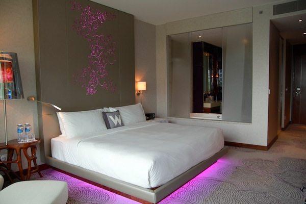 W Singapore Sentosa Cove Standard Room Suma Explore Asia