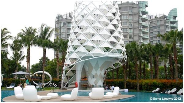 W Singapore Sentosa Cove Pool