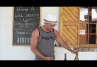 Video tour of Canada`s Okanagan. Spend the day wine tasting then recover on the beach