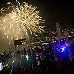 Singapore NYE party 2013 at Sands Observation Deck