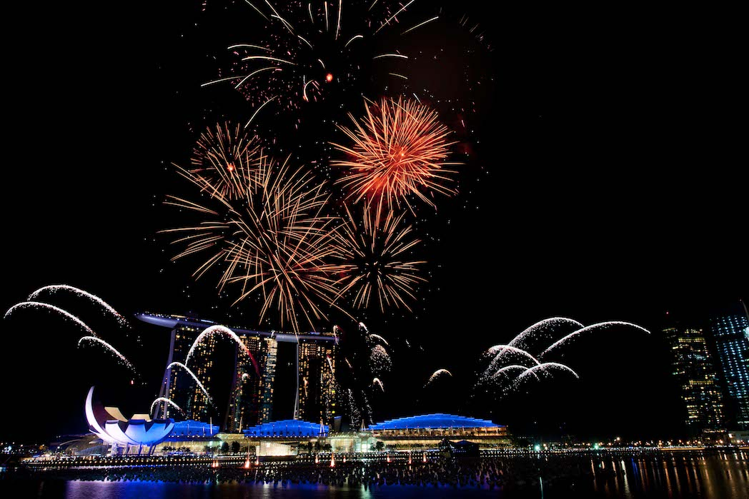 Singapore New Years Eve Parties