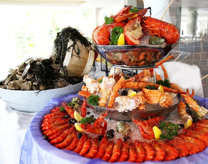 Shangri-La Sentosa Sunda Garden Party Buffet