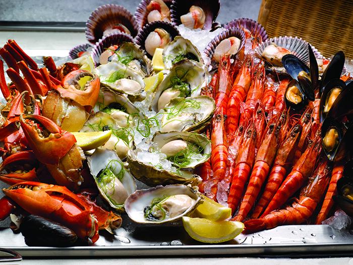 Seafood Fiesta Buffet Parkroyal on Beach Road