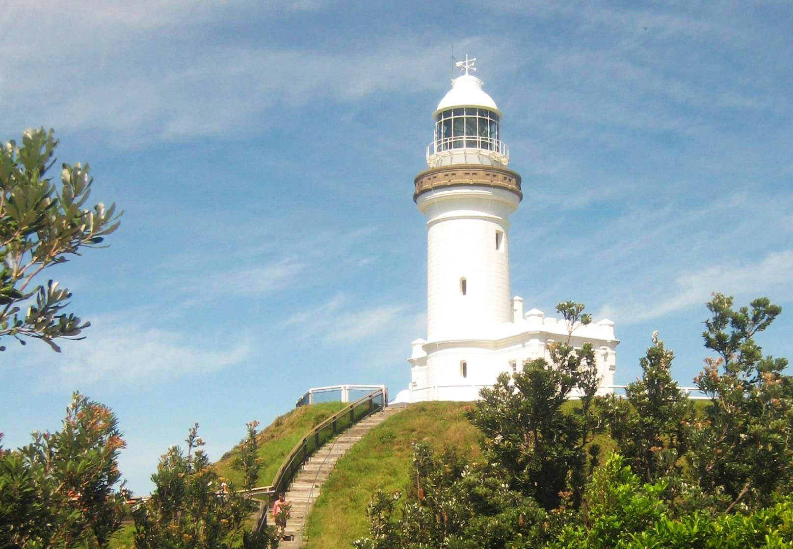 The Cape Byron Light House