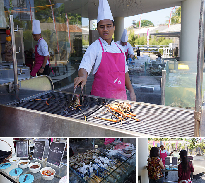 sheraton bali kuta resort market brunch