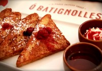 Brunch Parisian Style at Ô Batignolles