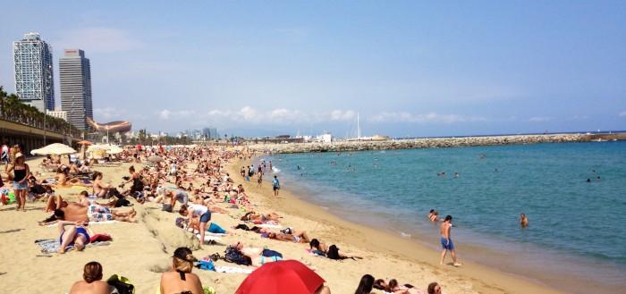 Barcelona's Main Beach