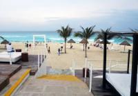 The Oasis beach