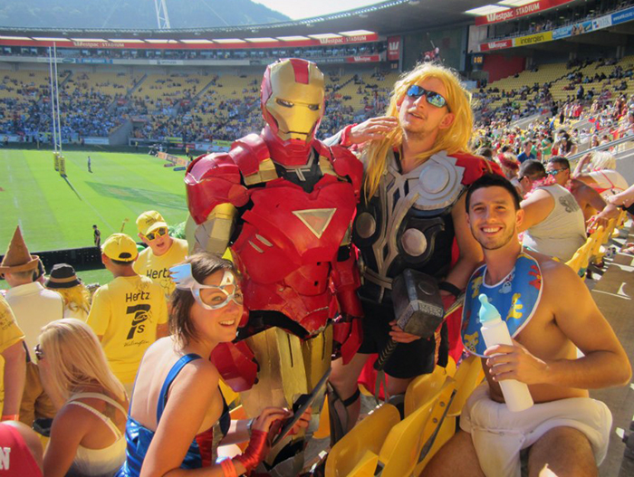 Rugby 7s Wellington New Zealand One of the World's Best Parties