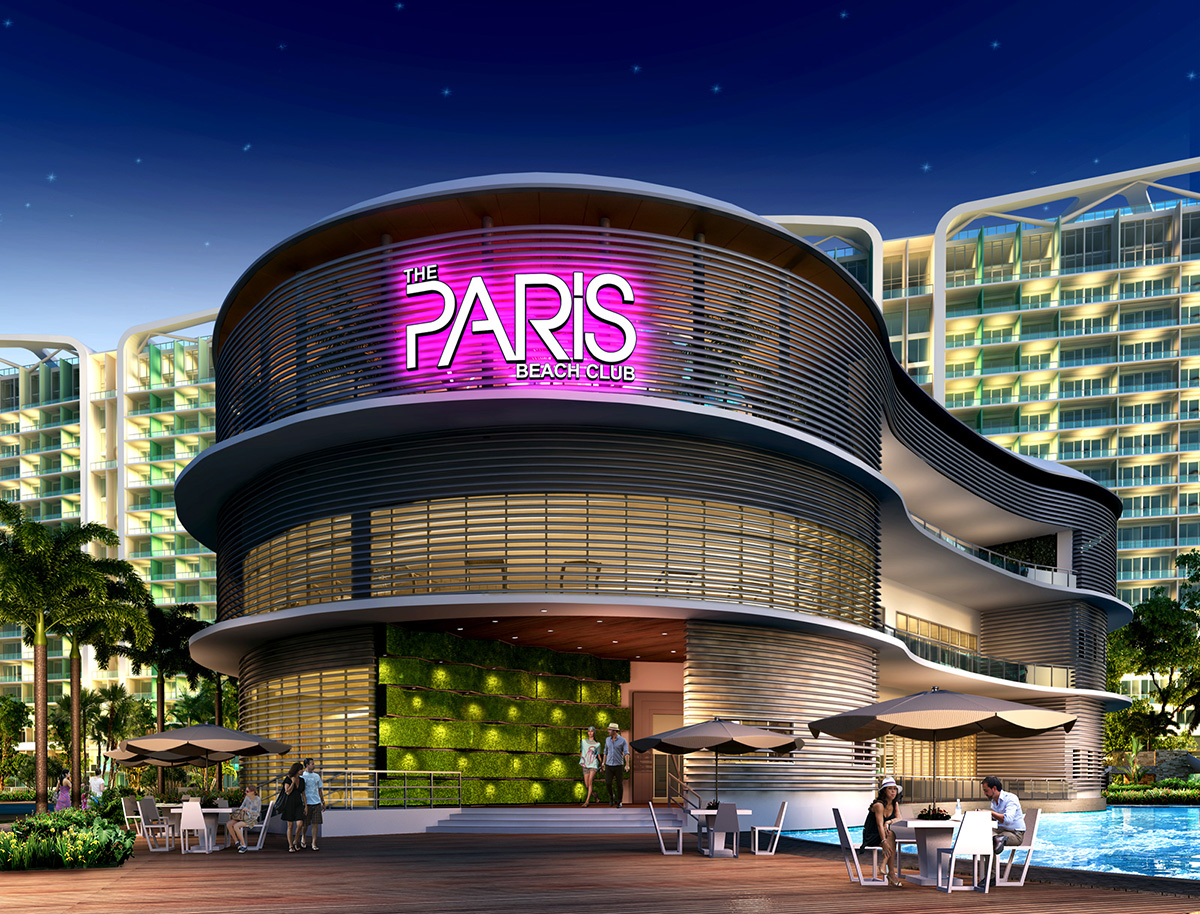 The Paris Beach Club Manila Philippines