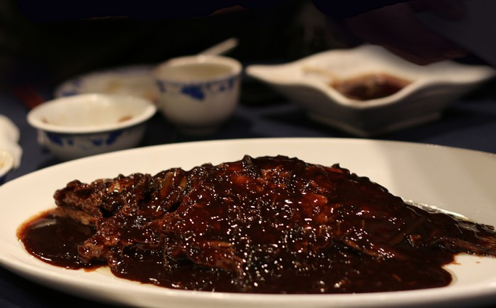 Jesse Shanghainese Restaurant - Steamed Mandarin Fish