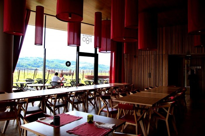 Antinori Chianti Classico Rinuccio 1180 restaurant interior