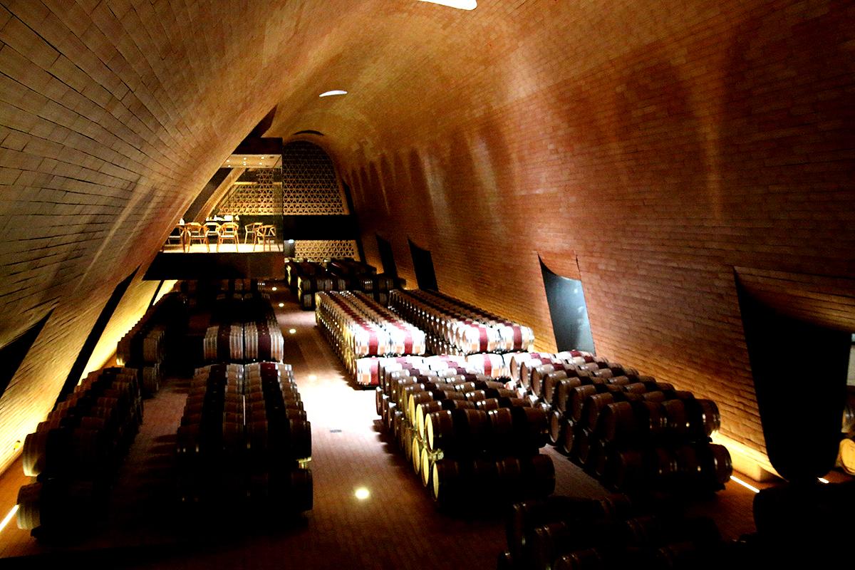 Antinori Chianti Classico Winery Cellar
