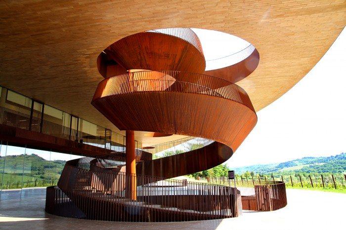 Antinori Chianti Classico Winery Staircase