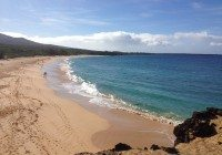 "Makena State Park, ""Big Beach"".  Hawaii"