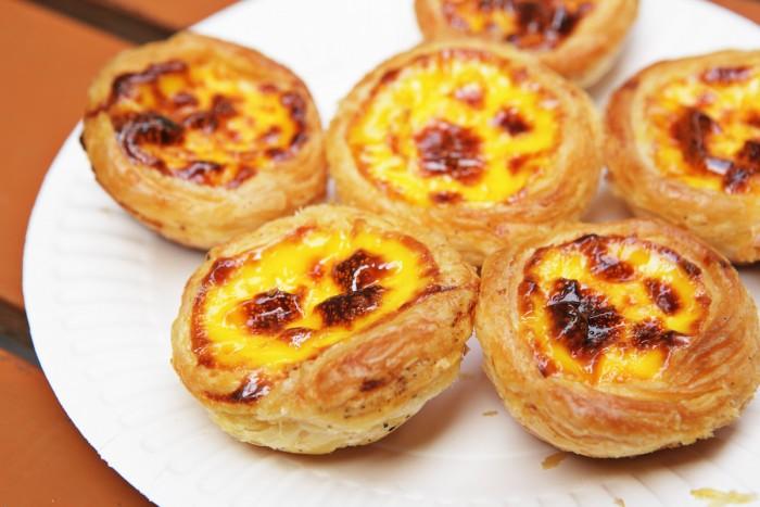 Portugese Egg tarts in Macau