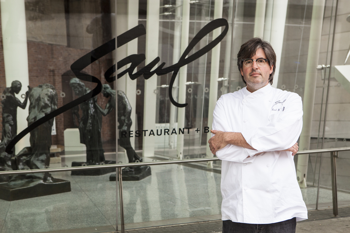 Chef Saul Bolton Singapore
