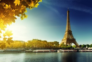 Seine in Paris with Eiffel tower - Paris Top Sights