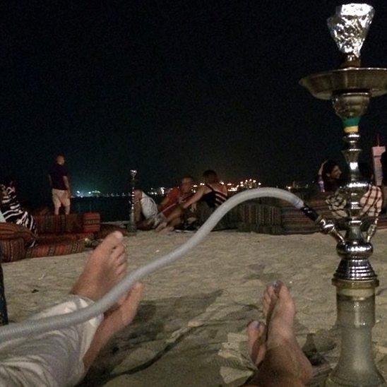 24 Hours in Dubai Sofitel Jumeriah Beach Shisha