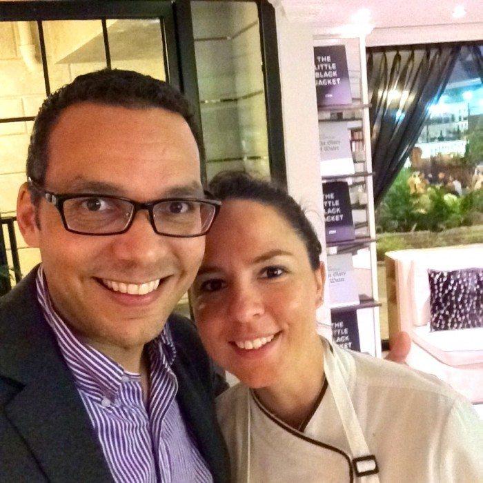 Executive Chef, Anne Cecil Degenne designed delicious canapés